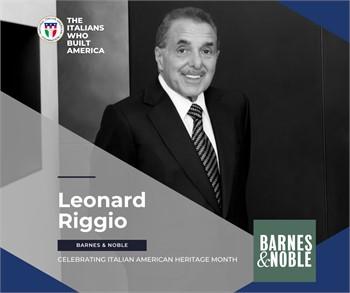 The Italians Who Built America: Leonard Riggio